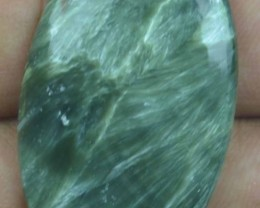 30.85 Ct Seraphinite Natural Untreated Cabochon x45-57