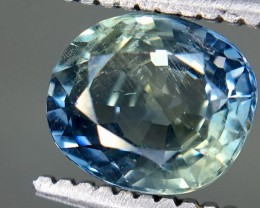 1.14 Crt GIL Certified Unheated Sapphire Faceted Gemstone