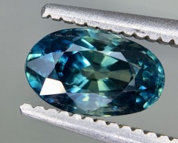 1.17 Crt GIL Certified Unheated Sapphire Faceted Gemstone