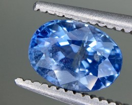 1.34 Crt GIL Certified Unheated Sapphire Faceted Gemstone