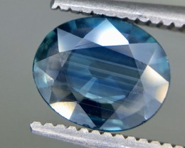 1.05 Crt GIL Certified Unheated Sapphire Faceted Gemstone