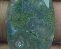 32.35 CT BEAUTIFUL MOSS AGATE (NATURAL+UNTREATED) X25-167