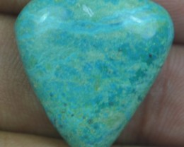 CHRYSOCOLLA STONE 19.75 Ct Natural Cabochon x3-268
