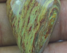 26.25 CT BEAUTIFUL STRIPED JASPER (NATURAL+UNTREATED) X32-90