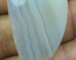 40.00 CT LACE AGATE BEAUTIFUL CABOCHON (NATURAL+UNTREATED) X19-54