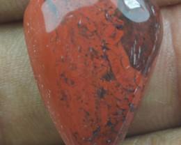 18.80 CT RED IRON JASPER BEAUTIFUL CABOCHON (NATURAL+UNTREATED) X22-59