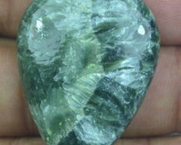 46.50 Ct Seraphinite Natural Untreated Cabochon x45-56