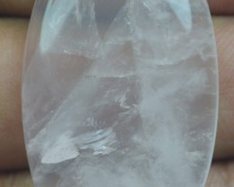 53.60Ct BEAUTIFUL ROSE QUARTZ (NATURAL+UNTREATED) X15-125