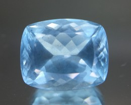 3.15 Crt Aquamarine Faceted Gemstone (R 205)
