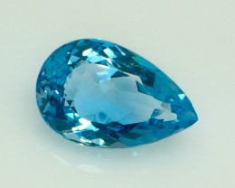 25.12 Crt Natural Topaz Top luster Facetted Gemstone. (T 21)