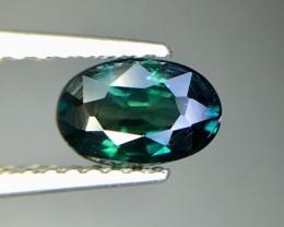 Magnificent Top Color Sparkling Intense Blue Sapphire Pk39