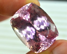 No Reserve - 73.95 cts Deep Pink Color  Kunzite  Gemstone From Afghanistan