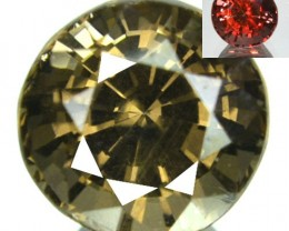 2.17 Cts Natural Color Change Garnet Nice Round Tanzanian Gem