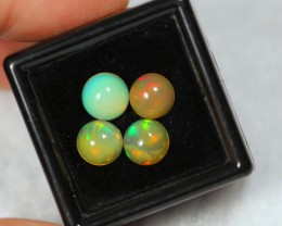 3.57ct Round 7mm Ethiopian Welo Opal Lot