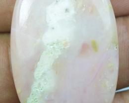 Pink Opal Cabochon 42.50 Cts Beautiful Natural x11-71