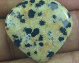 31.10 CT BEAUTIFUL DALMATION JASPER (NATURAL+UNTREATED) X24-98