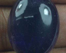 32.15 CT NATURAL UNTREATED AMETHYST CABOCHON X21-91