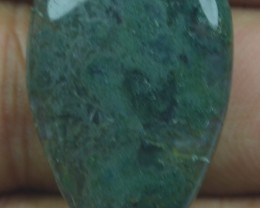 23.65 CT BEAUTIFUL MOSS AGATE (NATURAL+UNTREATED) X25-146