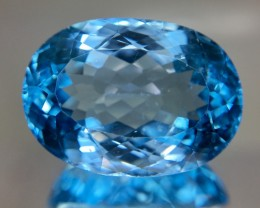 28.70 Crt Topaz Faceted Gemstone