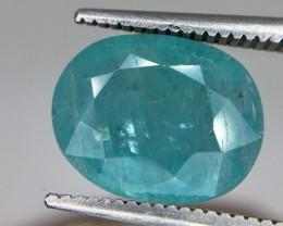 3.0 Crt Rare Grandidierite Faceted Gemstone