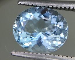 1.55 Crt Aquamarine Faceted Gemstone