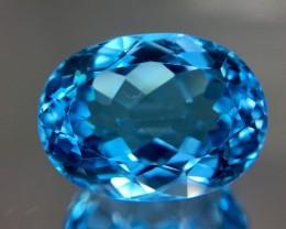 20.90 Crt Topaz Faceted Gemstone