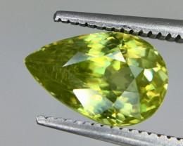 2.45 Crt  Natural Sphene Faceted Gemstone