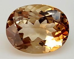 11.55Crt Natural Topaz  Best Grade Gemstones JI79