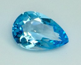 13.04 Crt Natural Topaz Top luster Faceted Gemstone (MG 22)