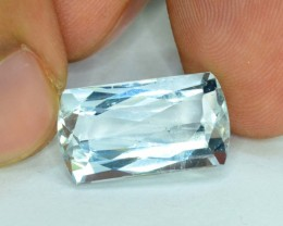 No Reserve - 7.55 cts Untreated Aquamarine Gemstone from Pakistan