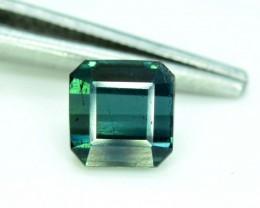 No Reserve - 1.25 cts Beaurtifull Natural Indicolite Tourmaline Gemstone ~