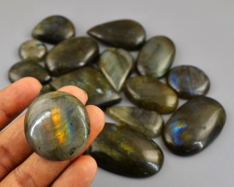 Genuine 925.00 Cts Amazing Flash Labradorite Gem Lot