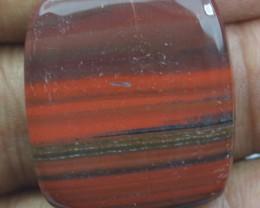 30.60 CT RED IRON JASPER BEAUTIFUL CABOCHON (NATURAL+UNTREATED) X22-82