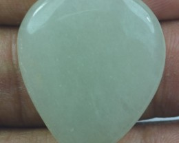 28.90 CT BEAUTIFUL GREEN AVENTURINE (NATURAL+UNTREATED) X23-125