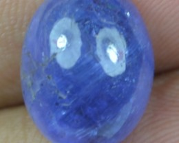 12.00 Ct Tanzanite Cabochon (Natural+Untreated) X39-50
