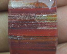 36.35  CT RED IRON JASPER BEAUTIFUL CABOCHON (NATURAL+UNTREATED) X22-84