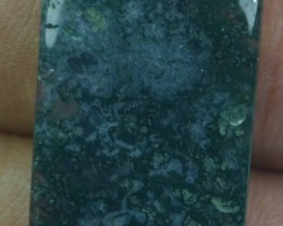 13.50 CT BEAUTIFUL MOSS AGATE (NATURAL+UNTREATED) X25-193