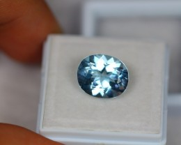 6.22ct Natural Blue Topaz Oval Cut Lot V1800