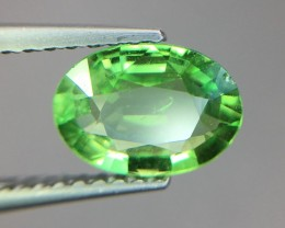1.14 Cts Untreated Tsavorite Awesome Color ~ Africa Pk39