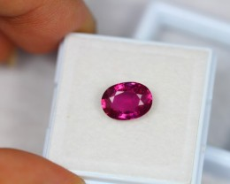 2.73Ct Natural Ruby Oval Cut Lot LZ919