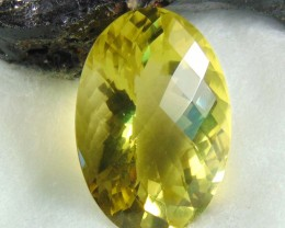 FLAWLESS SPARKLING collective PIECES LEMON QUARTZ  88.95 OVAL cts