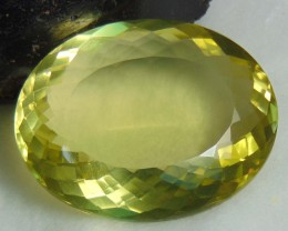 FLAWLESS SPARKLING collective PIECES LEMON QUARTZ  OVAL 181.70 cts