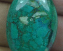 CHRYSOCOLLA STONE 31.40 Ct Natural Cabochon x3-280