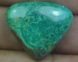 CHRYSOCOLLA STONE 24.30 Ct Natural Cabochon x3-281