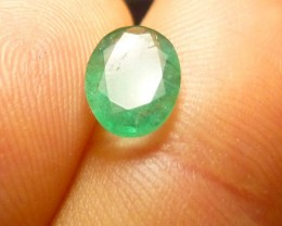 1.55cts  Emerald , 100% Natural Gemstone