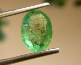 1.27cts  Emerald , 100% Natural Gemstone