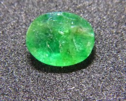 Vivid 1.44cts Afghan Emerald , 100% Natural Gemstone