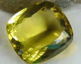 FLAWLESS SPARKLING collective PIECES LEMON QUARTZ  cushion 319.30cts