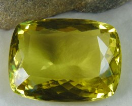 FLAWLESS SPARKLING collective PIECES LEMON QUARTZ  cushion 238.70  cts