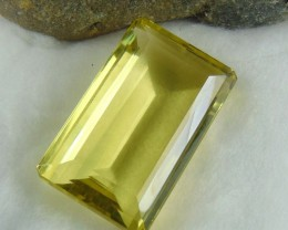 FLAWLESS SPARKLING collective PIECES LEMON QUARTZ  Octagon 138.55 cts